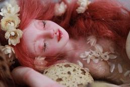 Fairy sleeping in nest_016