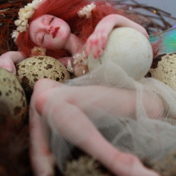 Fairy sleeping in nest_09