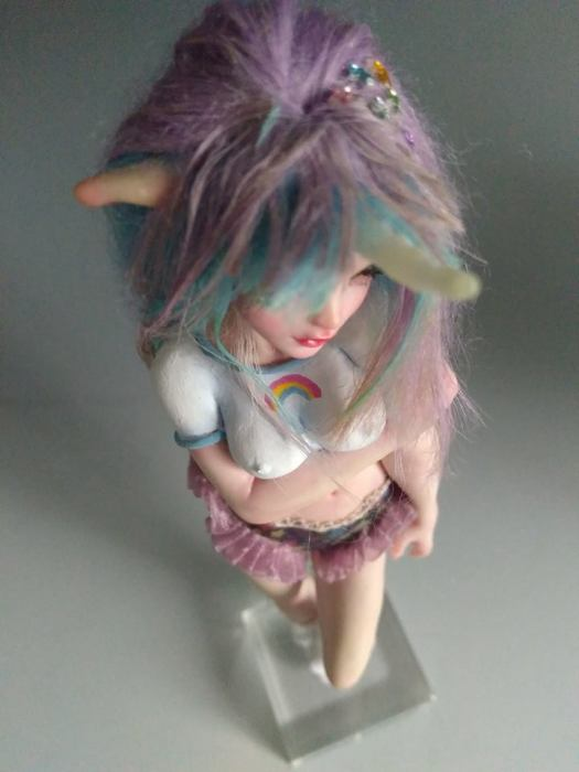 unicorn girl by SEM