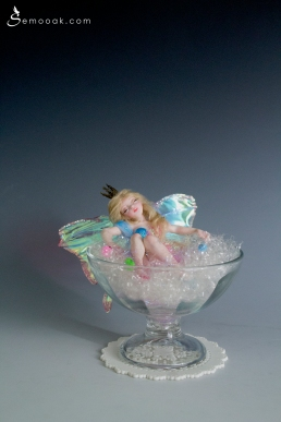 Sleeping beauty fairy ooak art doll_01
