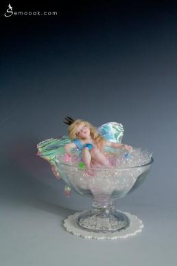 Sleeping beauty fairy ooak art doll_01