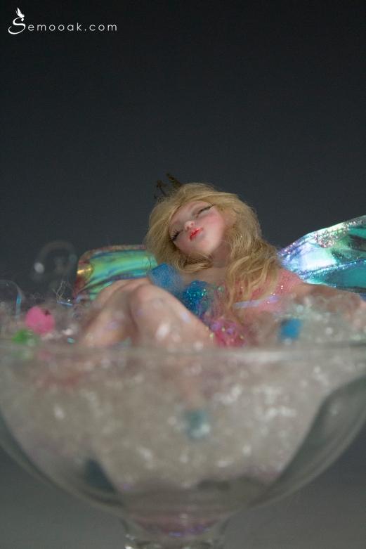Sleeping beauty fairy ooak art doll_06