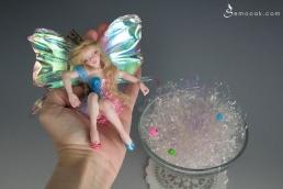 Sleeping beauty fairy ooak art doll_12