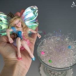 Sleeping beauty fairy ooak art doll_12