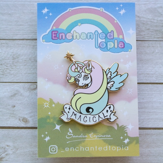 magical unicorn enamel pin_01